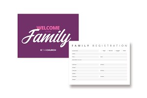 Family Registration Card Template