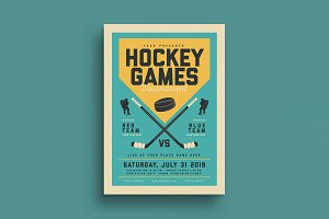 Vintage Hockey Game