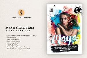 Maya Color Mix