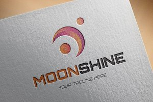Moonshine Logo Template