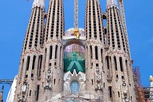 La Sagrada Familia cathedral