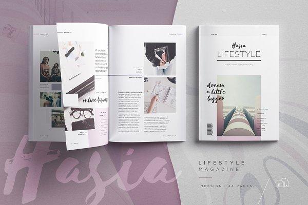Magazine Templates: bilmaw creative - Hasia - Lifestyle Magazine
