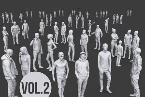 Complete Lowpoly People Pack Vol. 2
