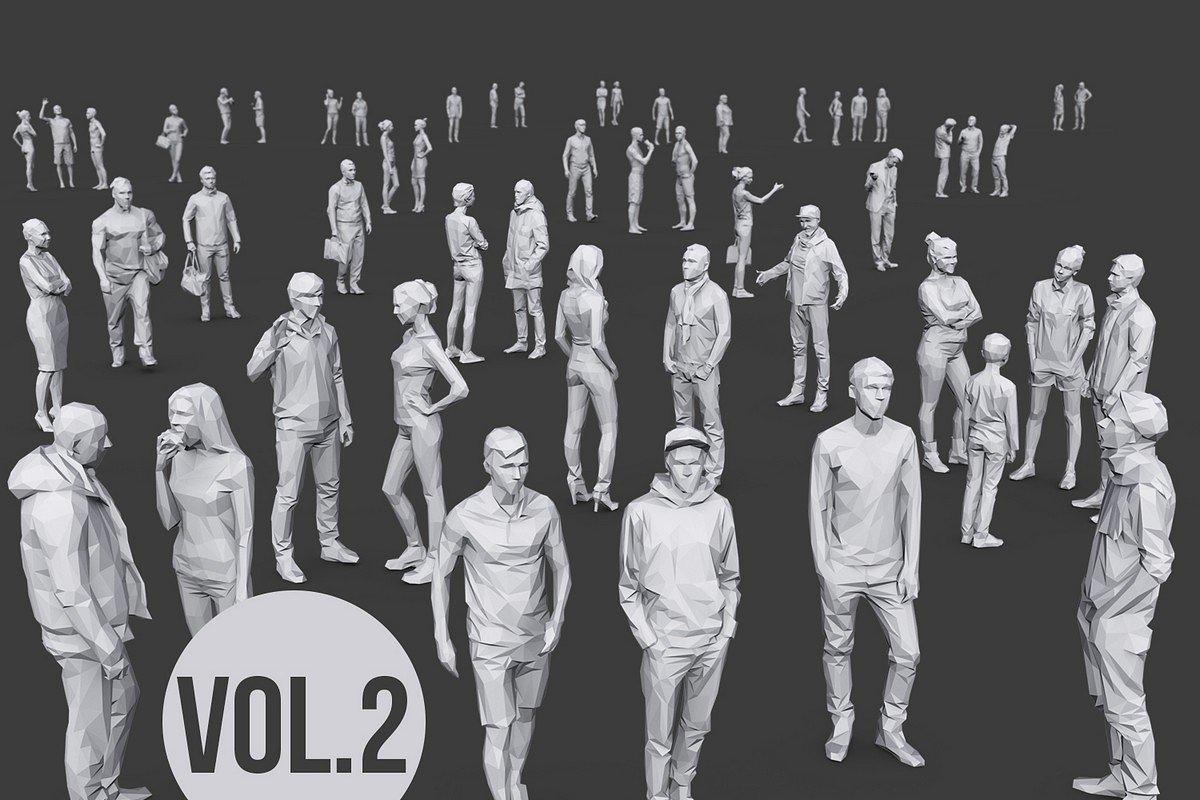 Complete Lowpoly People Pack Vol. 2