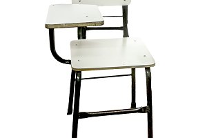 School Chair Isolated