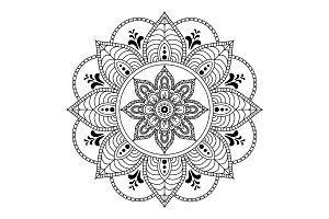 Ethnic Mandala Ornament