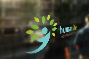 Human Life Organic Tree