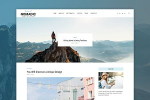Nomadic - Travel Blog Theme