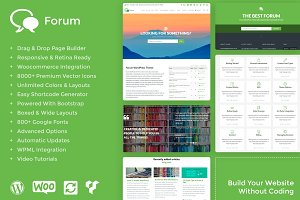 Forum WordPress Theme