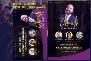 Right Church Event Flyer