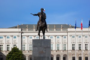 The Presidential Palace, Warsaw