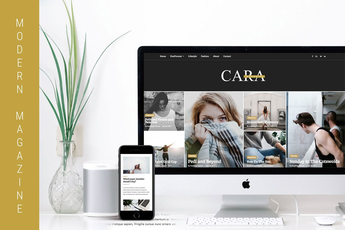Cara - Magazine WordPress Theme