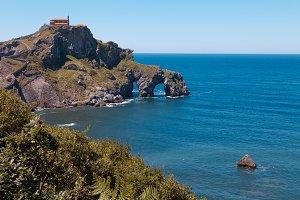 San juan de gaztelugatxe island and