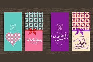 Elegant Wedding Cards suits