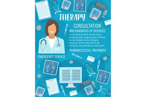 Medical clinic or therapy medicine
