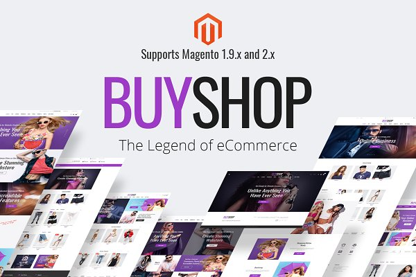 Magento Themes - BuyShop - Premium Magento theme