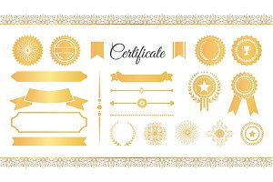 Certificate Labels Awards and