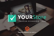 YourStore Multipurpose Magento theme by  in Magento