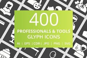 400 Professional & Tools Glyph Icon