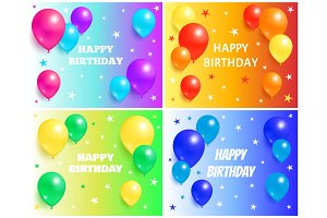 Happy Birthday Backgrounds with