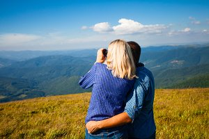 Honeymoon in the Carpathian