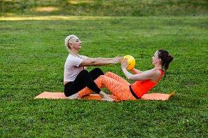 Fun fitness lesson