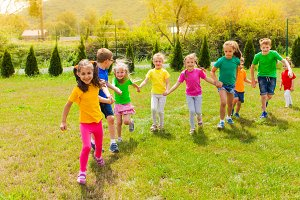 Summer camp outdoor games