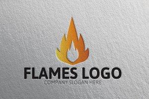 Flames Logo -40% Discount!