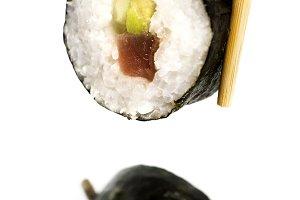 slice of sushi