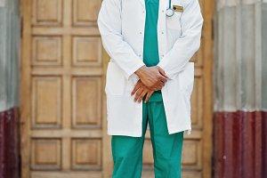 African american doctor