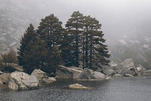 Laguna negra lake, Soria, Spain.