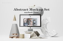 Abstract Mockup Set by  in Product Mockups