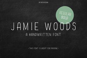 Jamie Woods condensed font
