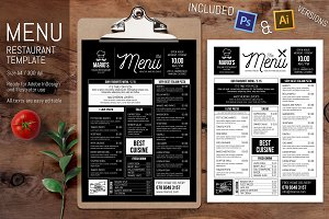 Minimal Vector Restaurant Template