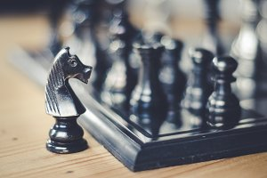chess board game strategy, business
