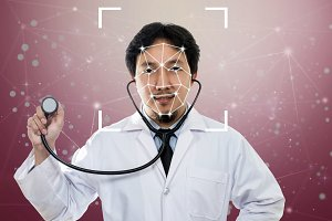 Asian Doctor Face detection and reco
