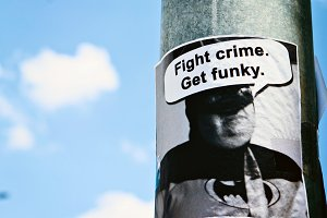 Fight Crime, Get Funky post