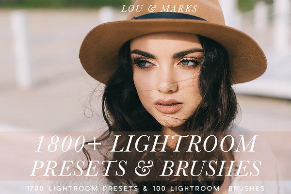 1800+ Modern Presets & Brushes