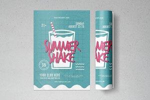 Summer Shake Flyer