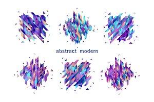 Vector trendy vibrant gradient