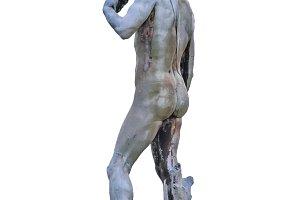 David Sculpture Isolated Photo