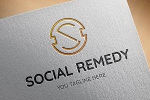Social Remedy Logo Template