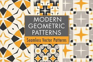 Modern Geometric Patterns: Classic