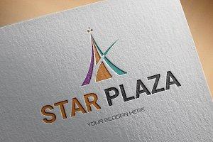Star Plaza Logo Template