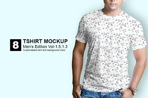Tshirt Mockup Mens Edition