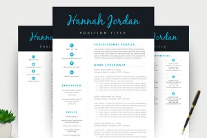 Resume/CV & Cover Letter Template
