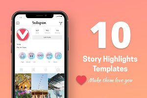 10 Instagram Stories Highlight Icons