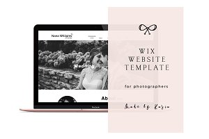 WIX WEBSITE TEMPLATE
