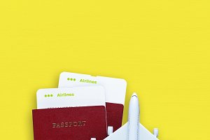 Passports and boarding passes