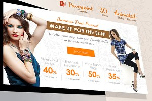 Clean Creative Fashion Powerpoint